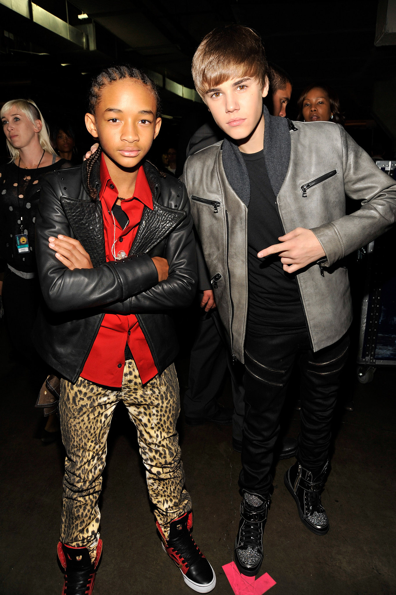 Justin Bieber and Jaden Smith are both talented young stars so it should come as no surprise that they both became fast friends. Justin has been supporting Jaden's music career, giving him a highly-coveted spot on his world tour last year.