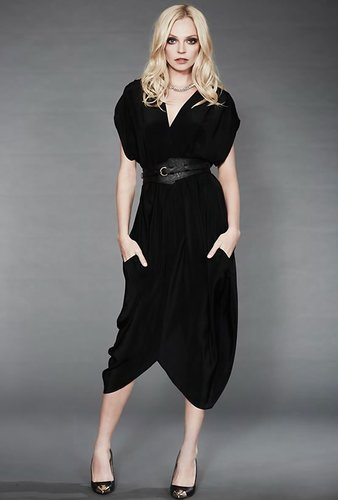 Myne Heidi Dress in Black