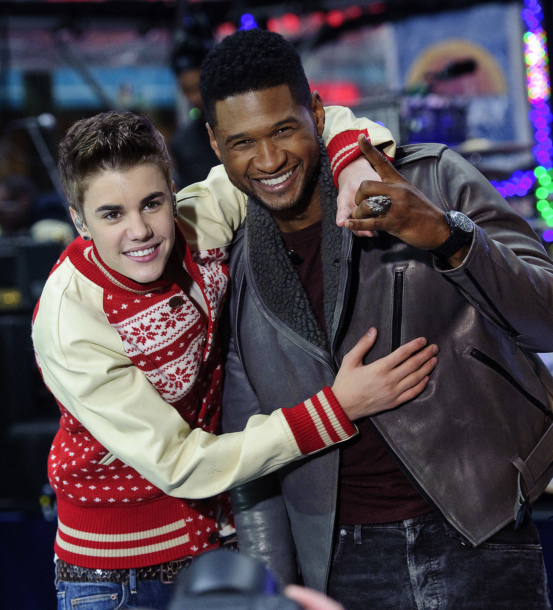Justin Bieber used to idolize Usher, and now the s