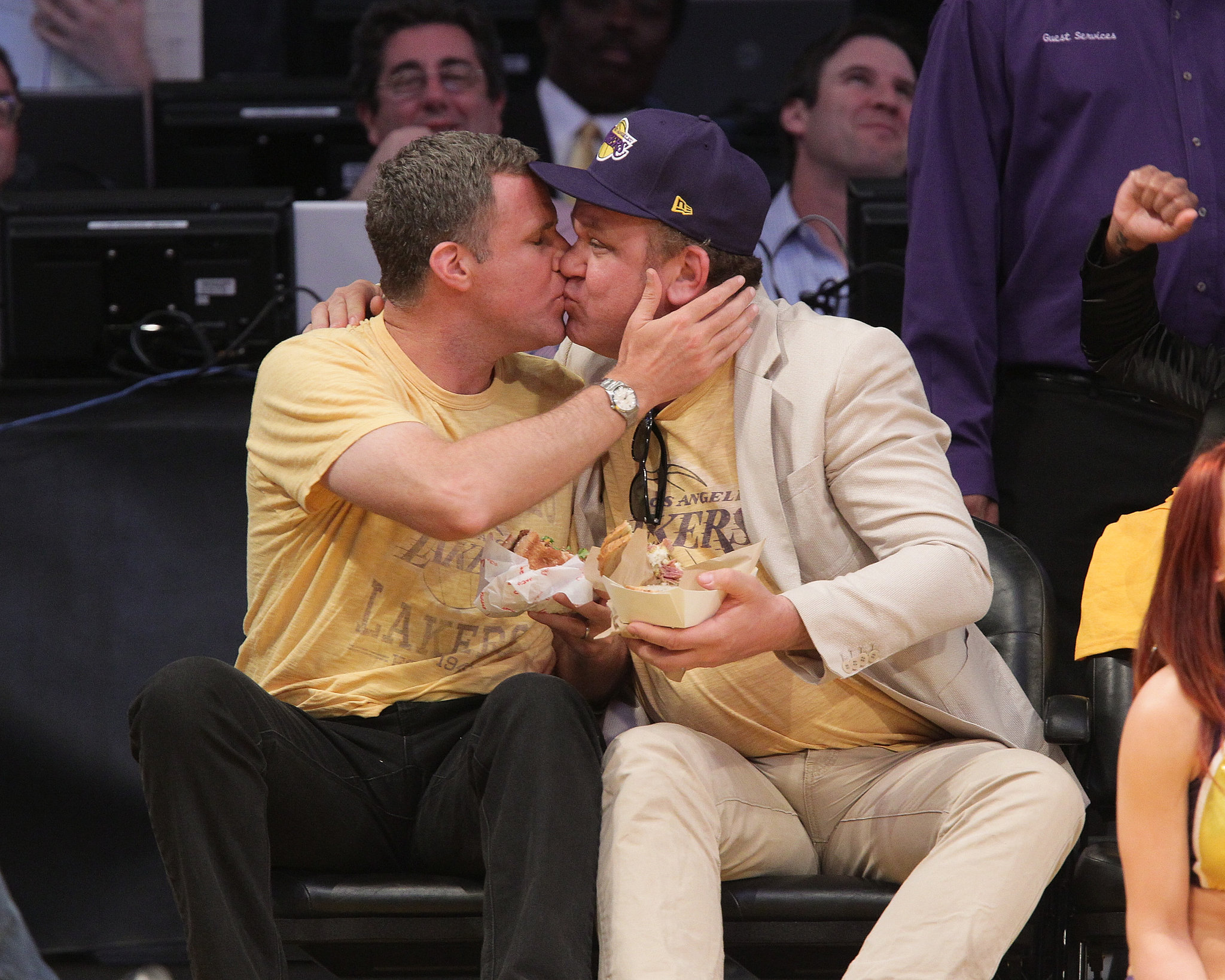Will Ferrell and John C. Reilly have never been shy about their relationship. The
