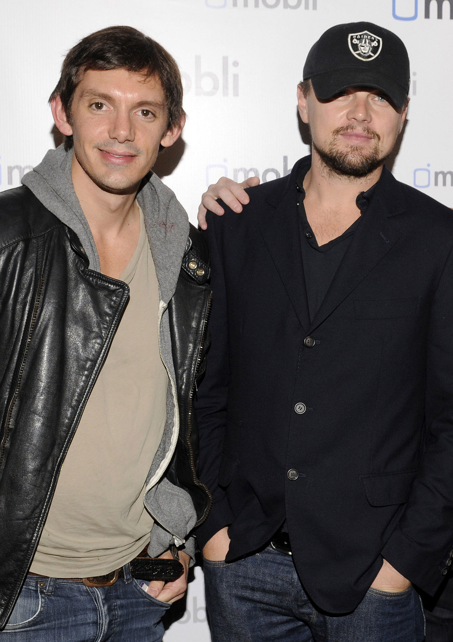 Leonardo DiCaprio and Lukas Haas have been buddies since they first met while auditioning in Hollywood years ago. They stick together for sports games and lavish vacations, an