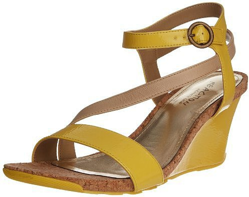Kenneth Cole REACTION Women's Cedar Crush PA Wedge Sandal