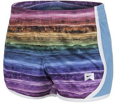 Nike Mesh Painted Stripes Girls' Shorts