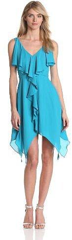 maxandcleo Women's Ruffle Front Dress