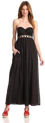Mara Hoffman Women's Lattice Strapless Dress