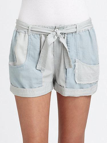 Shona Joy Go Your Own Way Chambray Shorts