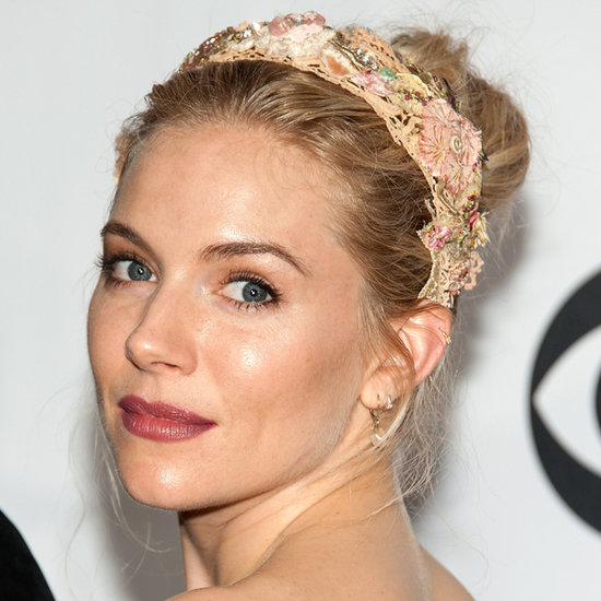 Sienna Miller Wears Burberry to the Tony Awards