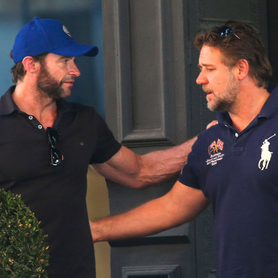 Hugh Jackman and Russell Crowe in NYC | Photos