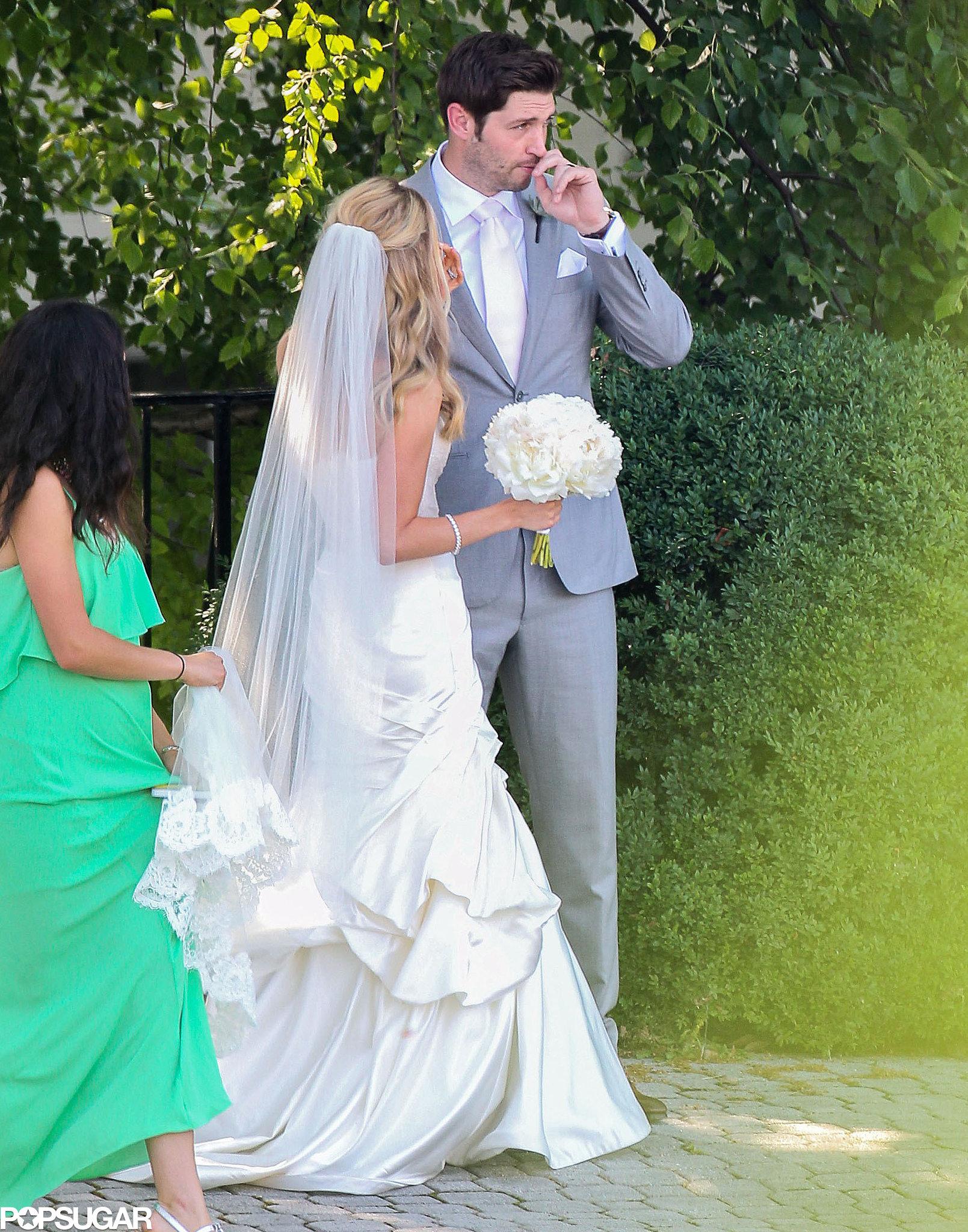 Kristin Cavallari and Jay Cutler made for an adorable wedding couple.