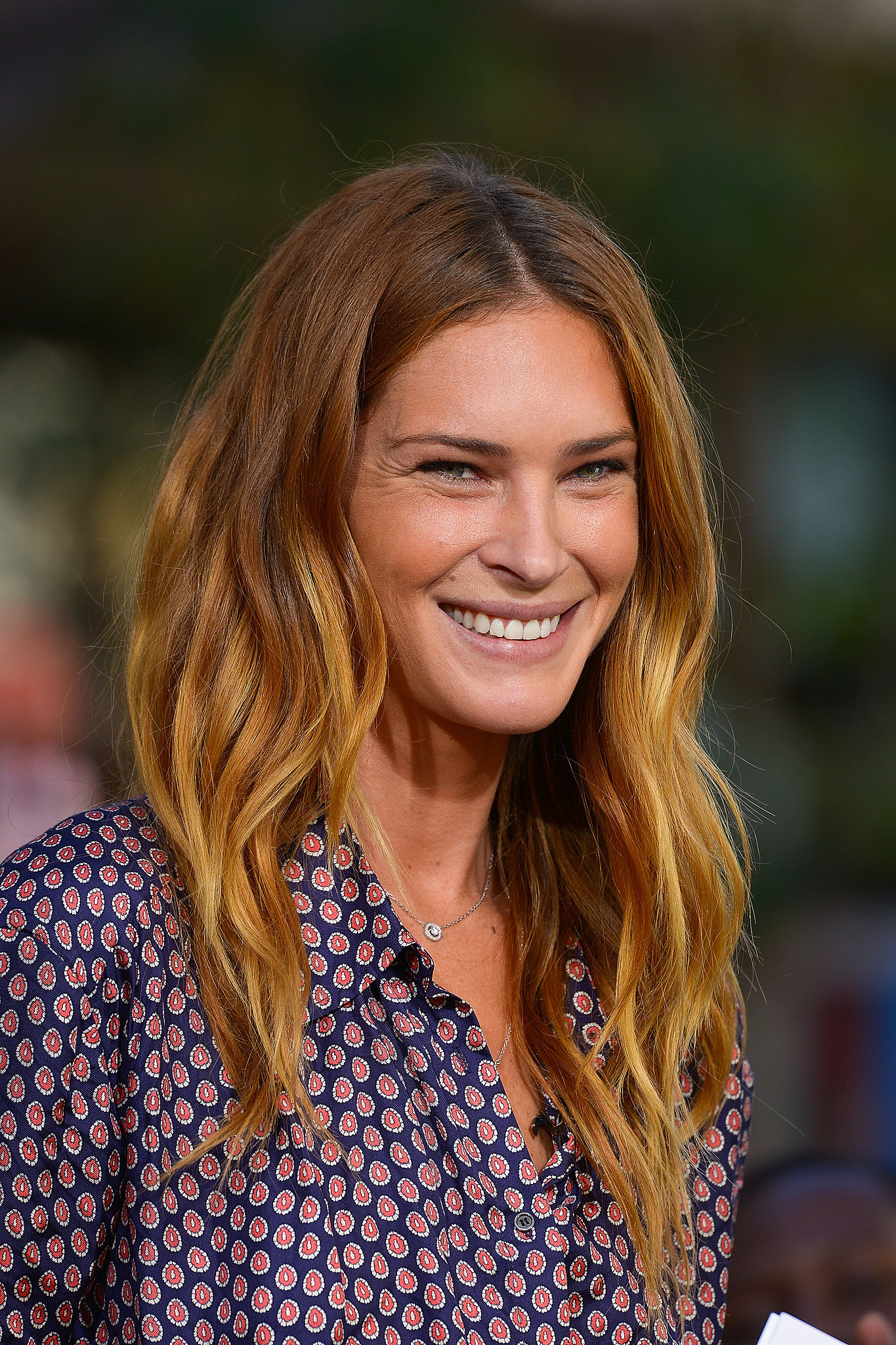 Model Erin Wasson is known for her bedhead hairstyles, and her beachy waves had the perfect balance of low-key and polished in LA recently.