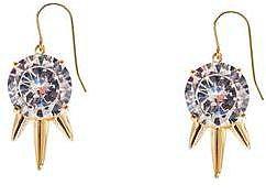 nOir Jewelry Three Drop Spike Earrings