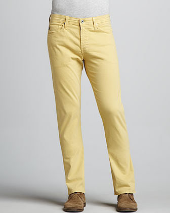 AG Adriano Goldschmied Protege Straight-Leg Banana Jeans