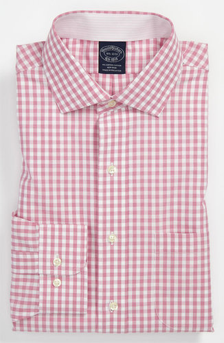 Brooks Brothers Slim Fit Non-Iron Dress Shirt (3 for $225)