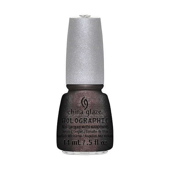 Update your dark manicure with China Glaze Galactic Gray ($14). The moody hue is flecked with holographic glitter for a sparkling effect.