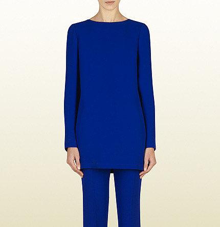 Blue Sapphire Silk Tunic