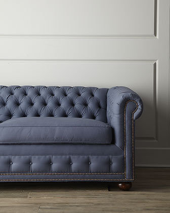 "Old Hickory Tannery ""Trixie"" Sofa"
