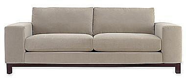 "Calypso 95"" Sofa in Heavenly Fabric"