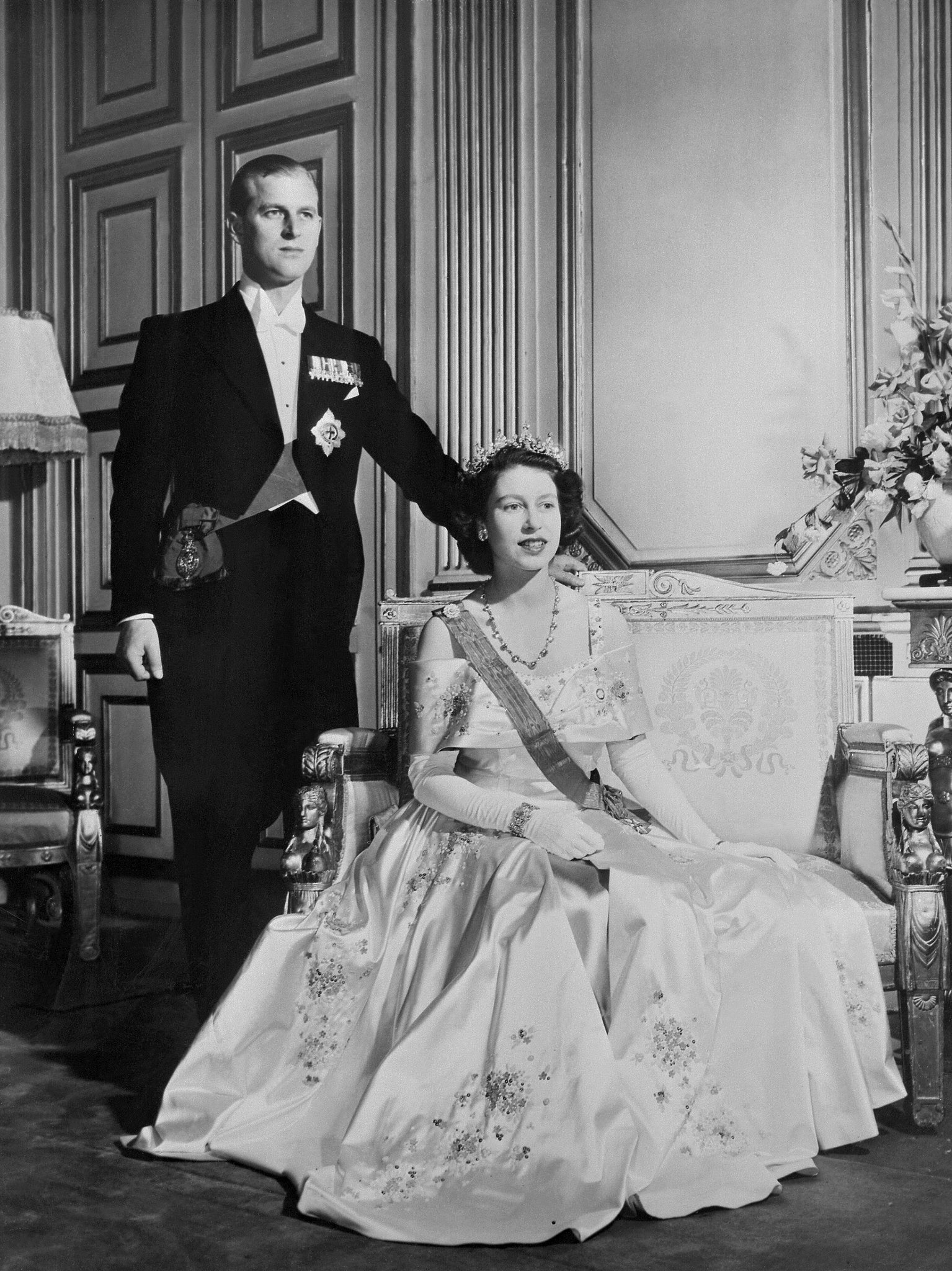 Queen Elizabeth Ii And Prince Philip 2013 Queen Elizabeth and Pr...