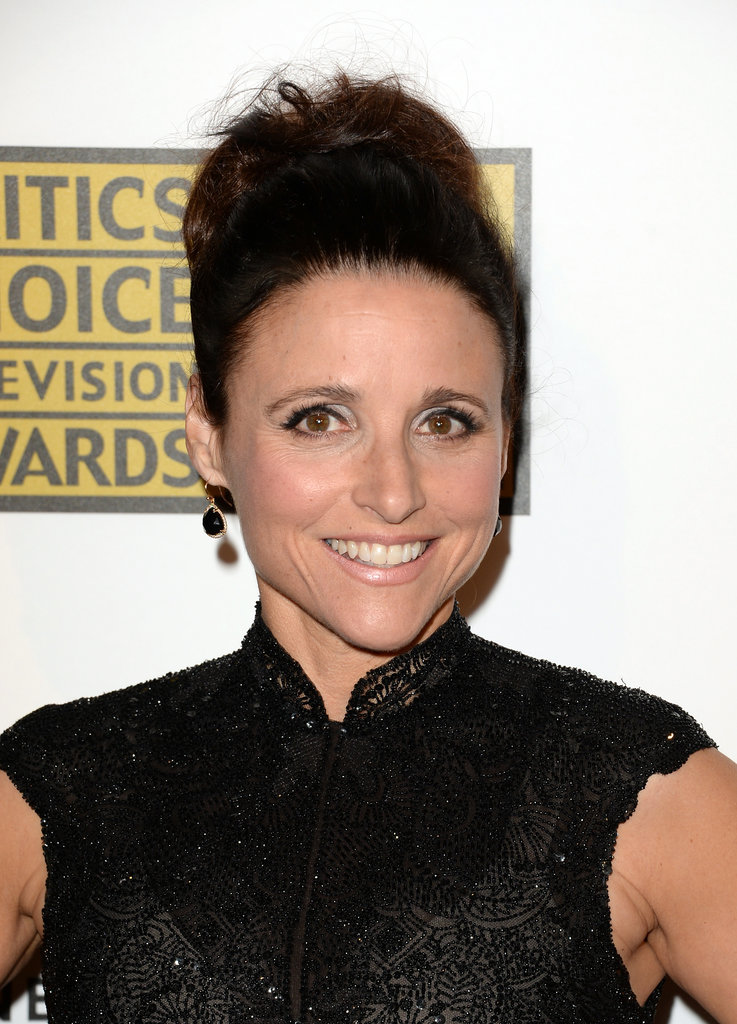 Julia Louis Dreyfus Shape Julia Louis Dreyfus 39 s Top Knot