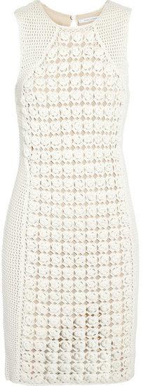 Diane von Furstenberg Thalia crocheted dress