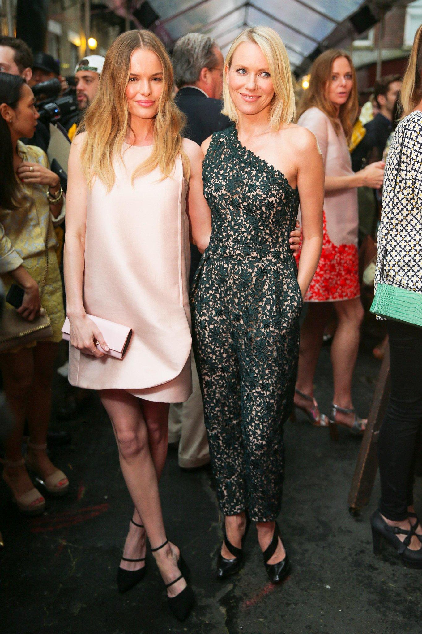 Kate Bosworth and Naomi Watts at Stella McCartney's Resort 2014 presentation. Source: David X Prutting/BFAnyc.com