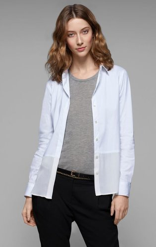 Capella Stretch Cotton Blouse