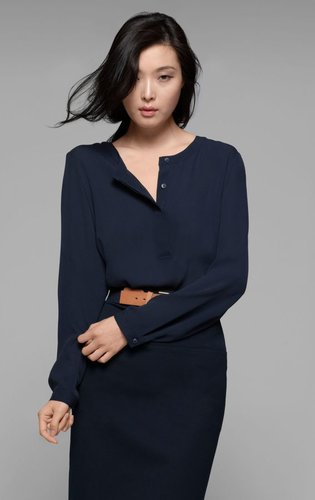 Mavis Silk Blouse