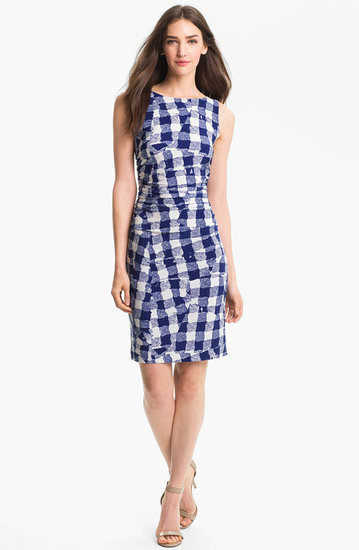 KAMALIKULTURE Print Shirred Dress