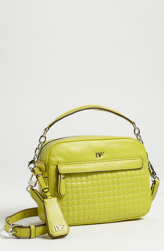 Diane von Furstenberg 'Milo - Mini' Quilted Crossbody Bag