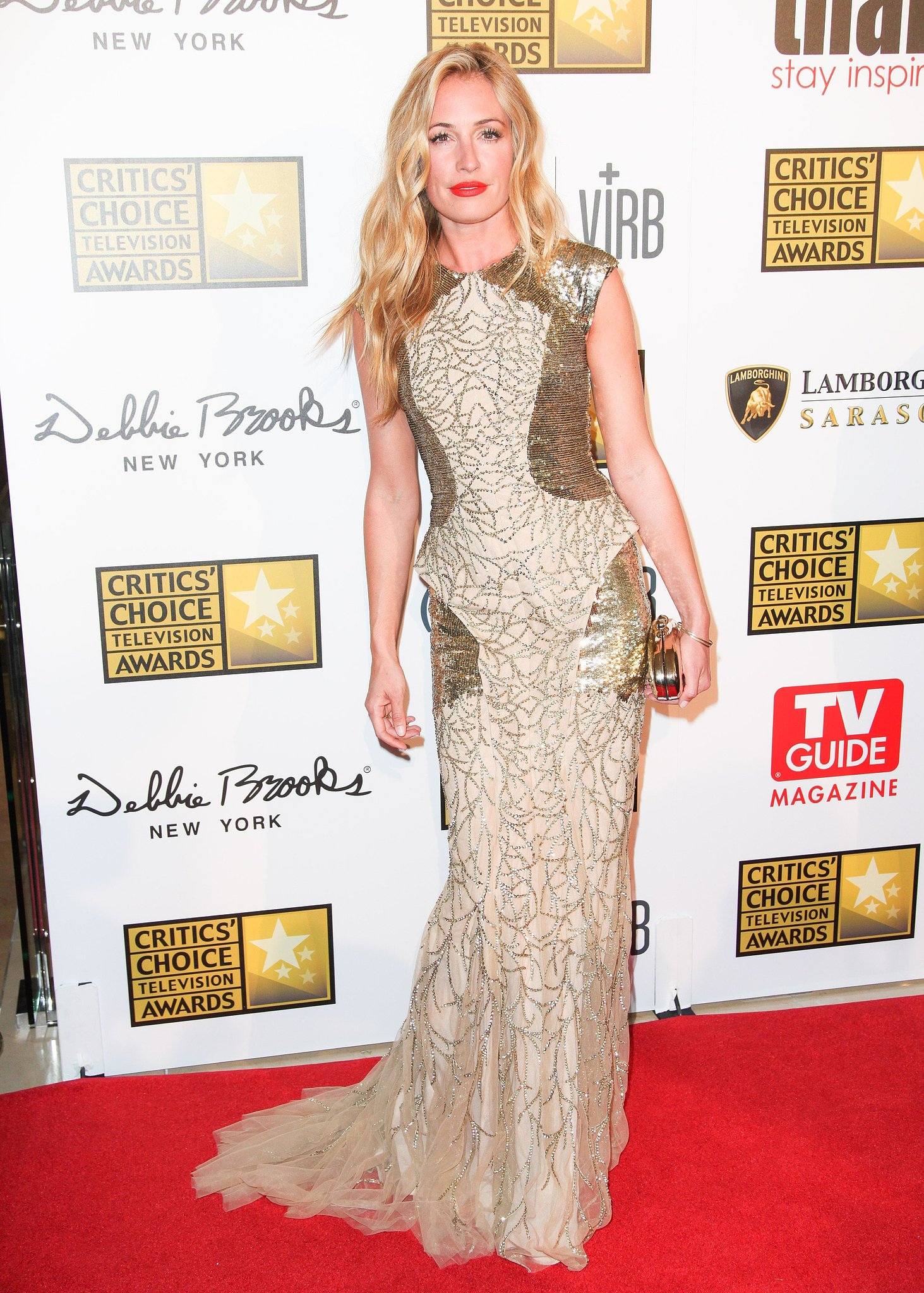 Cat Deeley at the 2013 Critics' Choice Television Awards in Los Angeles.  Source: Aleks Kocev/BFAnyc.com