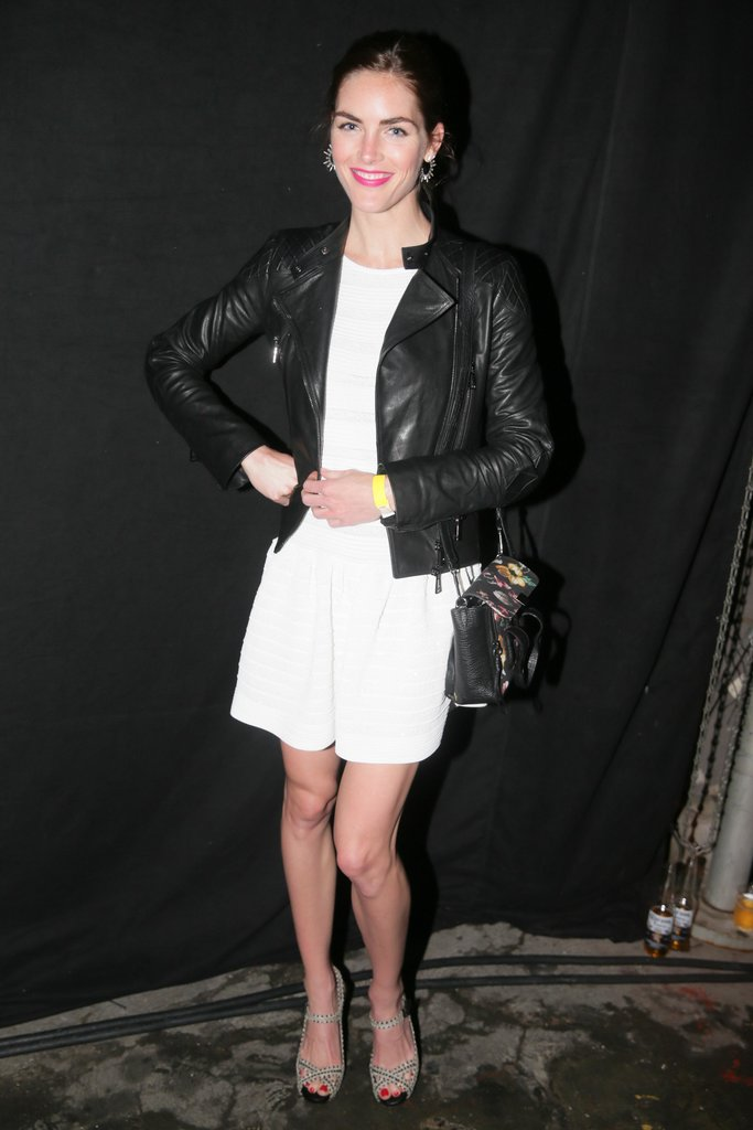 Hilary Rhoda at the Yeezus Listening Party in New York.  Source: David X Prutting/BFAnyc.com