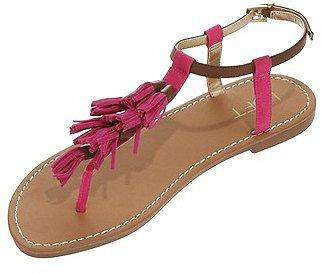 Victoria Tassel Sandals
