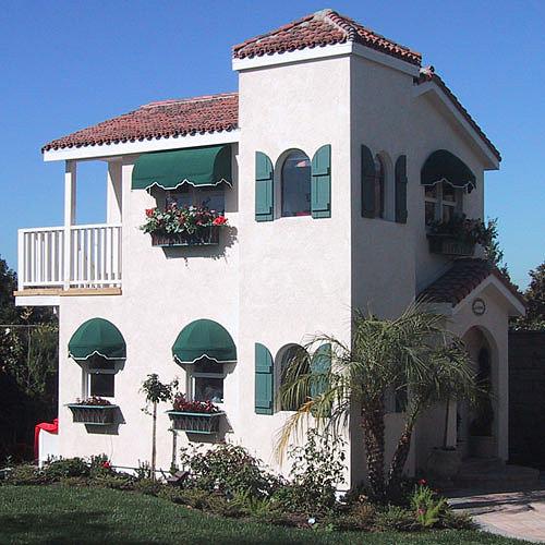 Mediterranean Villa Playhouse