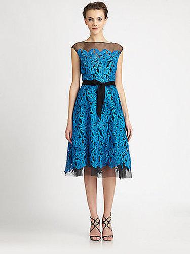 Teri Jon Tulle Lace Dress
