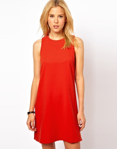 ASOS Shift Dress with Panel Detail
