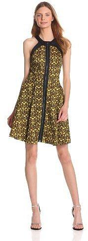 Robert Rodriguez Women's Filigree Print Dress
