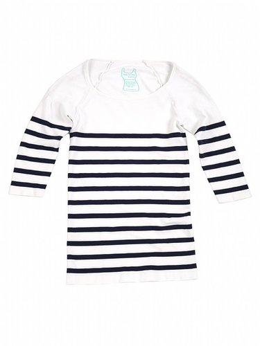 Tees by Tina Nautical Stripe 3/4 Sleeve