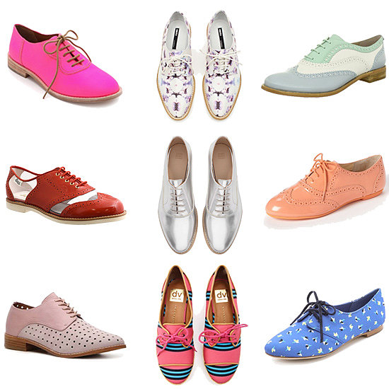 Best Flats | Oxford Shoes 2013