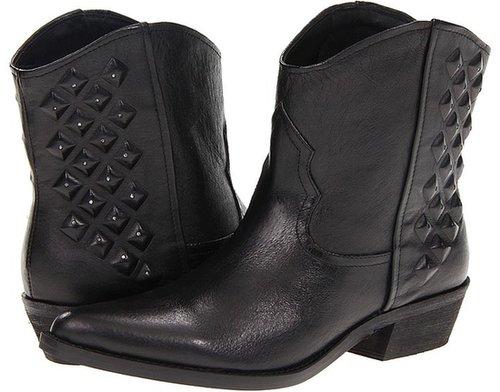 Steve Madden - Fortwrth (Black Leather) - Footwear