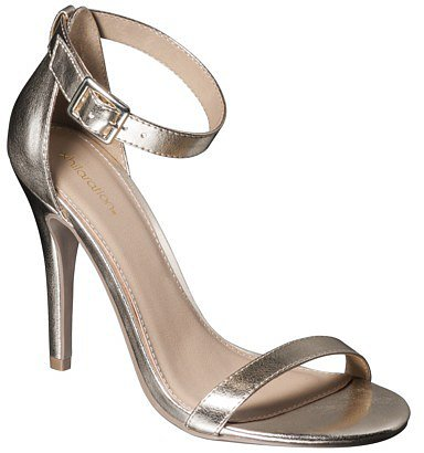 Women's Xhilaration® Susy Strappy Heel - Gold