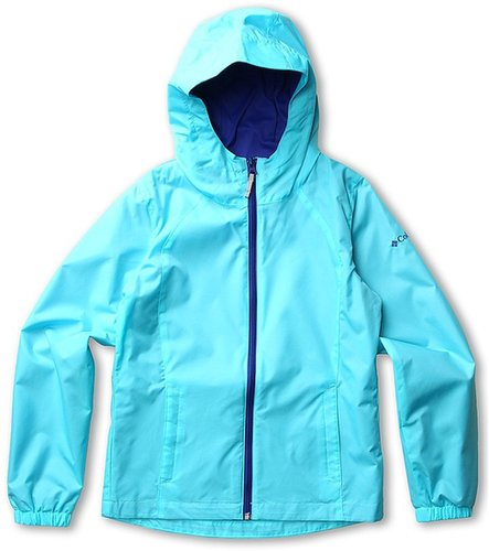 Columbia Kids - Trail Time Jacket (Little Kids/Big Kids) (Opal Blue/Light Grape) - Apparel