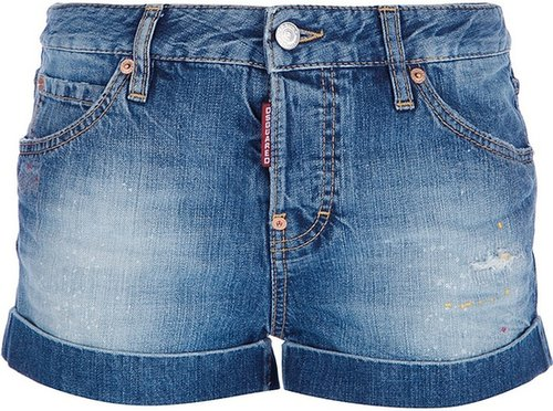 Dsquared2 denim hot pants