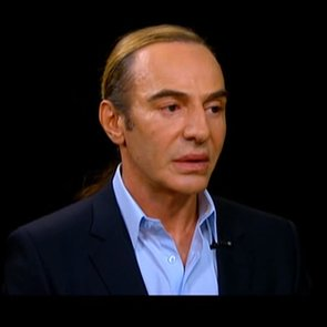 Watch John Galliano's Interview with Charlie Rose