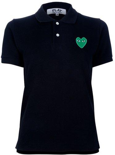 Comme Des Garçons Play logo polo shirt