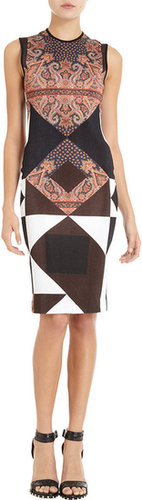 Givenchy Paisley Sheath Dress