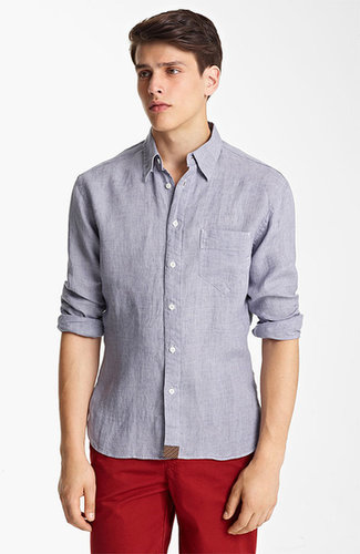 Billy Reid 'Walland' Linen Shirt