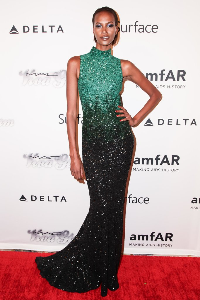 Yasmin Warsame lit up the red carpet in a shimmering gown. Source: Matteo Prandoni/BFAnyc.com