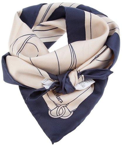 Max Mara bag print scarf