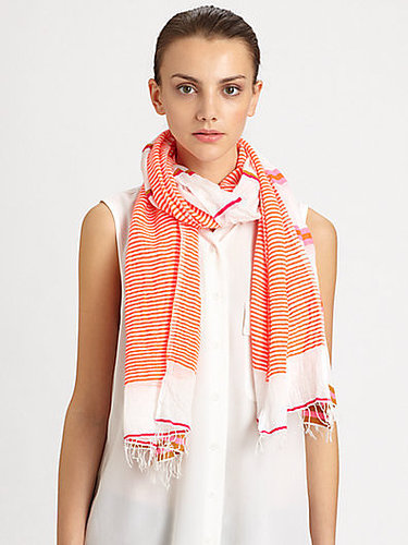 LemLem Walsh Split Striped Scarf