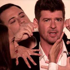 Jimmy Kimmel Robin Thicke Blurred Lines Parody Video